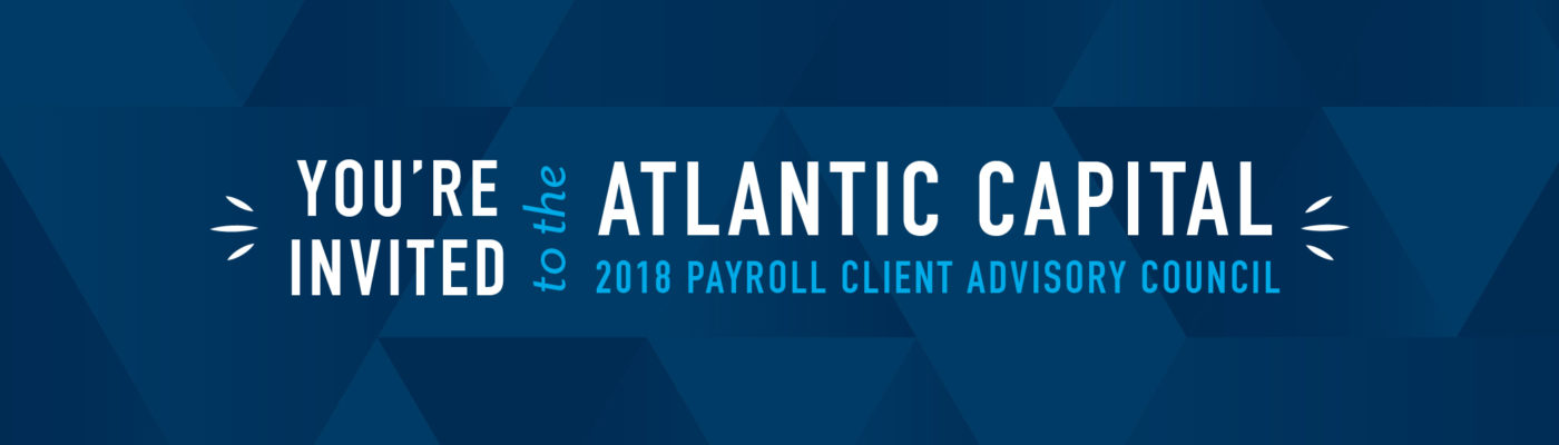 2018 Payroll Client Advisory Council